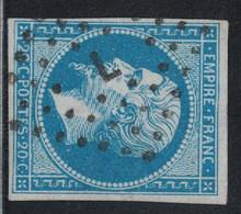 EMPIRE - N°14  - LOSANGE DE PARIS - L- BATON - COTE OBLITERATION 19€. - 1849-1876: Periodo Classico