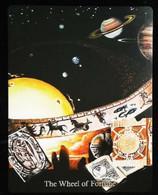 The Wheel Of Fortune (Zodiac Signs)    - A Divination & Meditation Tarot Maxi Card - Tarots