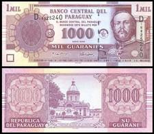 Paraguay - 1000 Guaranies 2005 UNC Pick 222b Lemberg-Zp - Paraguay