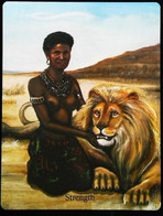 Strengh - Osiris Maat Osirian Myth - A Divination & Meditation Tarot Maxi Card - Tarots