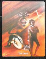The Devil - A Divination & Meditation Tarot Maxi Card - Tarots