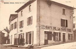 CPA 69 Monsols Avenue De La Gare - Sonstige Gemeinden
