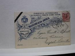 LA SPEZIA  ---  MAGGIONCALDA ANDREA  -- FABBRICA AUTORIZZATA  DI BILANCE E STADERE - La Spezia