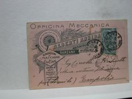SARZANA  -- LA SPEZIA  ---  ALBERTI ANNIBALE  -- OFFICINA MECCANICA - ARMAIOLO - La Spezia
