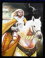 Prince Of Cups (Grall Holy Grail) Arthur Legend - Arthurian Britian Myth - A Divination & Meditation Tarot Maxi Card - Tarots