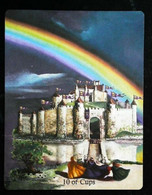 10 Of Cups (Castle) Arthur Legend - Arthurian Britian Myth - A Divination & Meditation Tarot Maxi Card - Tarots