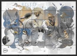NVPH -- - 2020 - Beleef De Natuur - Kustvogels - Zelfklevend Op Originele Folie *) - Periodo 2013-... (Willem-Alexander)