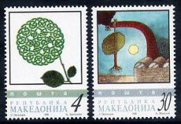 MACEDONIA 1998 Environment Day MNH / **.  Michel 131-32 - Mazedonien