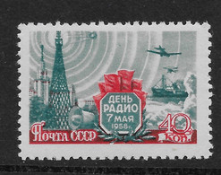 Russia USSR 1958 Radio Day LH - Nuovi