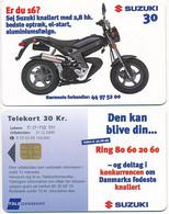 Denmark Exp. 31.12.2000 / Suzuki Moped / Tele Danmark 30 Kroner - Used - Dänemark