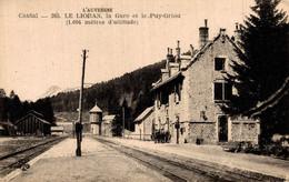15 LE LIORAN  La Gare Et Le Puy-griou - Unclassified