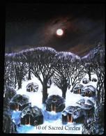 10 Of Sacred Circles - Native American Indian - A Divination & Meditation Tarot Maxi Card - Tarots