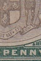 Jamaica: 1905/11   Arms    SG37a   ½d    Grey & Dull Green  ['Ser.et' Variety]    MH - Giamaica (...-1961)