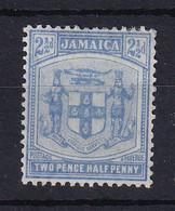 Jamaica: 1905/11   Arms    SG42    2½d    Pale Ultramarine     MH - Giamaica (...-1961)