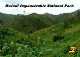 Uganda Bwindi Impenetrable National Park UNESCO New Postcard - Uganda