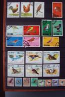 Vogels 83 Zgls 1x AK 1x Viltje - Colecciones & Series