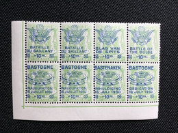1950. PR101/06. MNH. Mémorial Du Mardasson De Bastogne. - Private & Local Mails