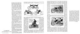 """LES  """" MOTOBICYCLETTES """"  1899 - Motorräder"""