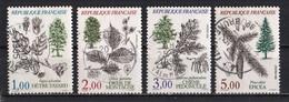 France 1985 : Timbres Yvert & Tellier N° 2384 - 2385 - 2386 Et 2387 Avec Oblitération Rondes. - Used Stamps