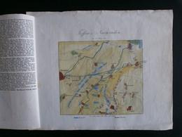 Treffen Bei NEERWINDEN 1793: Originele Kopergravure Anno 1840 - Stampe & Incisioni