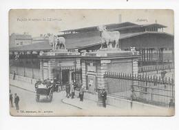 Anvers, Façade Et Entrée De L'Abattoir 1907 - Antwerpen