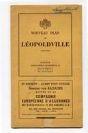 1954 Lépoldville Nouveau Plan - Editeur Lesigne - Compagnie Maritime Belge - Compagnie Maritime Congolaise - AMI - Autres