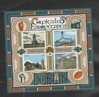 """FRANCE / 2020 / Y&T N° 5384/5387 En Bloc ** Ou F5384 ** (Feuillet """"Capitales Européennes"""" : Dublin) X 1 - Mint/Hinged"""