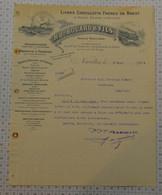 Lignes Chevillotte Freres De Brest Et Deppe D'Anvers Bouard à Nantes En Loire-atlantique (dept 44) - 1900 – 1949