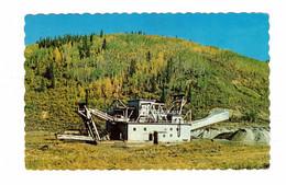 "DAWSON CITY, Yukon, Canada, Gold Dredge, ""Gold Rush"" TV Show, 1977 Chrome Postcard - Yukon"