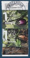 NVPH 3696  B En E - 2018 - Mijn Groentetuin - Aubergine En Zoete Aardappel - Periodo 2013-... (Willem-Alexander)