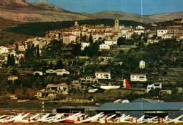 Carte Postale  (83)   FAYENCE   Vue Générale, Le Centre De Vol à Voile - Fayence