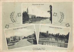 Veneto - Venezia - Cessalto - 3 Vedute Della Località  - F. Grande - Viagg - Molto Bella - Other Cities