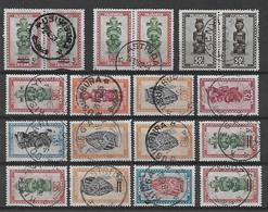 Ruanda-Urundi - Lotje Met Mooie Stempels - Collections (without Album)
