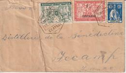 Lettre 1918 Pour La France (76) - Lourenco Marques