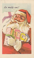 CPA CHRISTMAS, SANTA CLAUS, GIFTS - Santa Claus