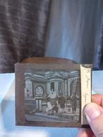 Japon Exposition 1889 Japonais En Train De Peindre Sur Poterie Animée - Diapositivas De Vidrio