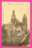 CPA FRANCE 27  ~  GISORS  ~  La Cathédrale, Côté Est  ( L. Tournan ) - Gisors