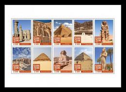 Sierra Leone 2020 Mih. 12208/17 Egypt Monuments (M/S) MNH ** - Sierra Leone (1961-...)