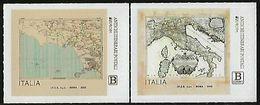 "ITALIA /ITALY / ITALIEN - EUROPA 2020 - ""ANTIGUAS RUTAS POSTALES - ANCIENT POSTAL ROUTES"" - SERIE De 2 V. - N - 2020"