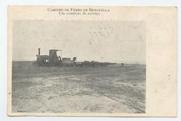 Caminho De Ferro De Benguella, Um Comboio De Serviço, Train  ( 2 Scans ) - Angola
