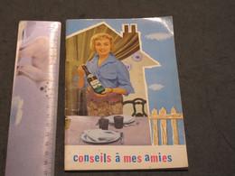 """ANNIE CORDY - LIVRET DE RECETTES BIERRE PIEDBOEUF - """"CONSEIL A MES AMIES """" - - Gastronomie"""