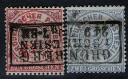 Grünberg Schlesien Auf 1 Groschen Rot - NDP Nr. 16 PF XII - Pracht - Conf. De L' All. Du Nord