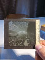 Galerie Des Machines Exposition 1889 Superbe - Diapositivas De Vidrio