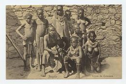 Angola, Typos Da Quissama, Costumes  ( 2 Scans ) - Angola