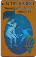 Denmark - TS - Olympic Games Hologram Cards - Fencing - TDTP031 - 02.94, 6.000ex, Used - Dänemark