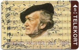 Denmark - TS - Richard Wagner - TDTP053 - 04.94, 2.000ex, Used - Dänemark