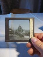 Pavillon Centrale Exposition 1889 - Diapositivas De Vidrio