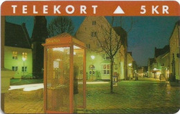Denmark - TS - Phone Booth - Utzon - TDTP067 - Exp. 31.12.96, 1.500ex, Used - Dänemark