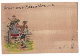 KAISERBRUNN. Carte En BOiS. Wood Post Cart - Zonder Classificatie