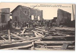 CPA 17 Le Chapus La Gare De Marchandises Apres Le Cyclone Du 23 Septembre 1914 - Sonstige Gemeinden
